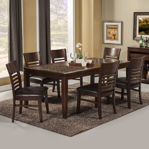 Cici 7 Piece Dining Set by Red Barrel Studio