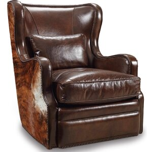 Wellington Swivel Wingback Chair  sc 1 st  Wayfair : leather wing back recliner - islam-shia.org