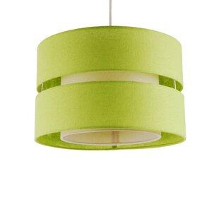 Mint green lamp shade wayfair 30cm fabric drum lamp shade aloadofball Gallery