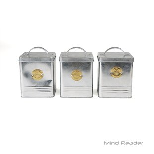 Round Kitchen Canister (Set of 3)