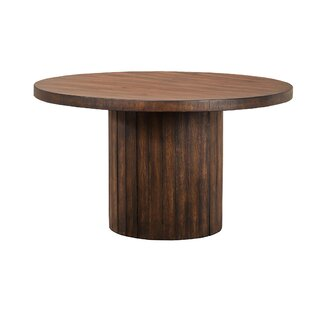 Brookside Barrel Base Dining Table by Foundry Select