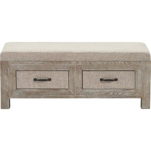 Gracie Oaks Standish Upholstered Storage Bench