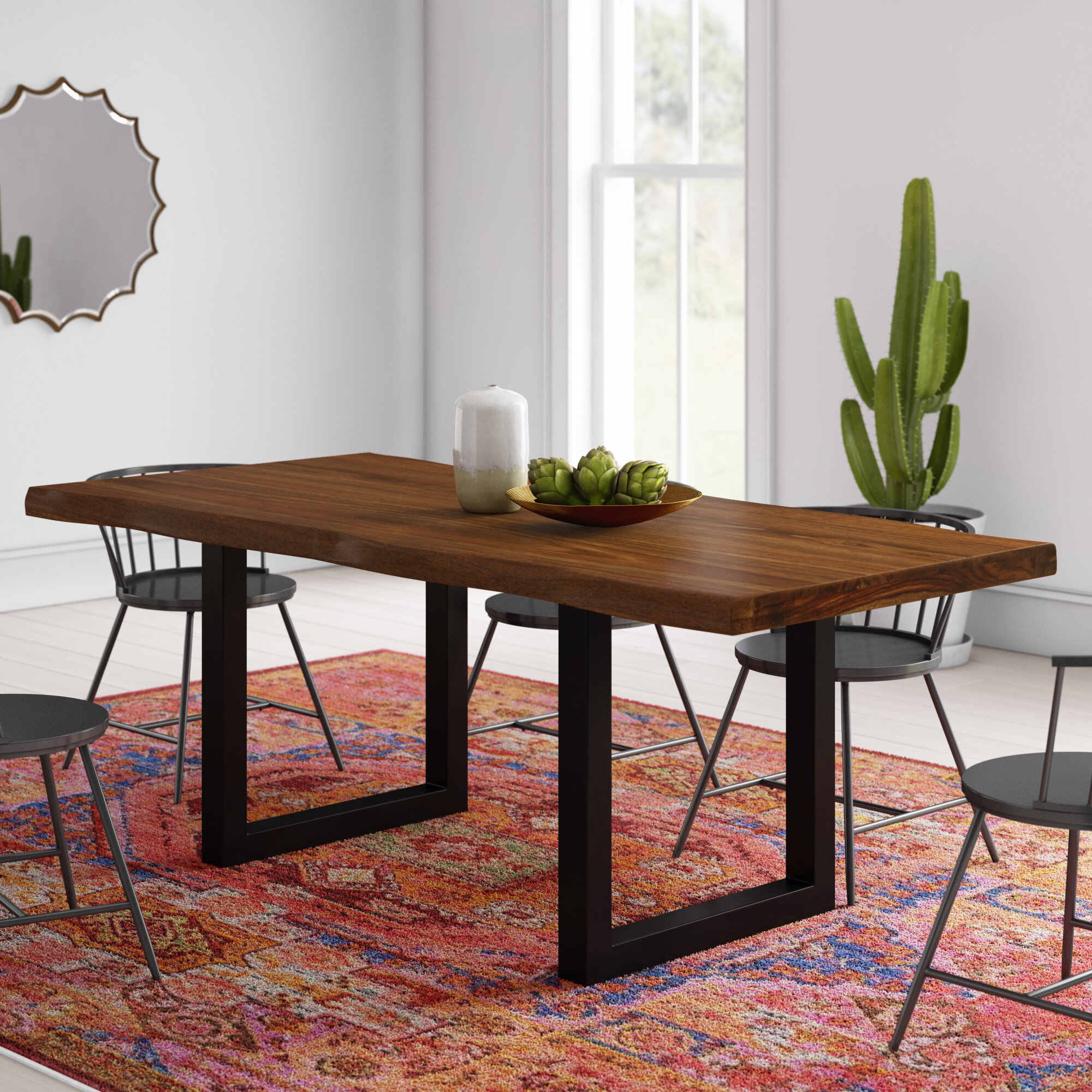 Mistana Lonan Dining Table Reviews Wayfair