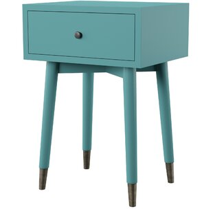 Pellston End Table with Storage by Mercury Row