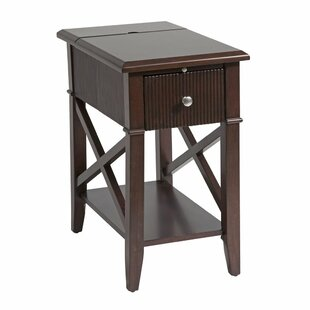 Florio End Table with Storage by Darby Home Co