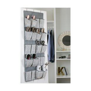 Almeida 20 Pair Overdoor Shoe Organizer By Laura Ashley