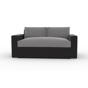Turo Loveseat with Cushions by Toja Patio Furniture