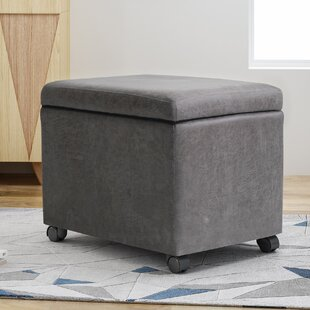 Price comparison Lincolnwood Storage Ottoman By Ebern Designs