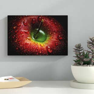 red apple photographic print on wrapped canvas - Red Kitchen Decor