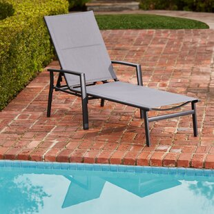Ebern Designs Noriega Padded Chaise Lounge