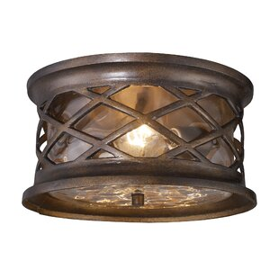 Elk Lighting Barrington Gate 2-Light Outdoor Flush Mount