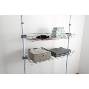 Mehara 94cm Wide Clothes Storage System By Rebrilliant