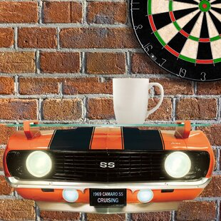 Comfrey GM Chevrolet 1969 Chevy Camaro SS Front End Wall Shelf by Zoomie Kids