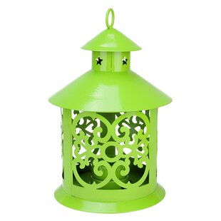 Shiny Wrought Iron Lantern