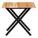 Sarang Cross Legs End Table by Loon Peak®