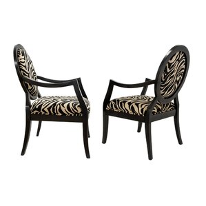 3 piece traditional accent armchair set
