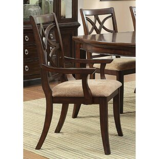 Clairsville Upholstered Dining Arm Chair (Set Of 2) 2019 Online