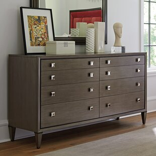 Ariana Touraine Eight Drawer Double Dresser