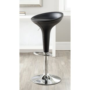 Rachell Adjustable Height Swivel Bar Stool Orren Ellis