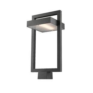 Comparison Fortune Outdoor 1-Light LED Lantern Head By Orren Ellis