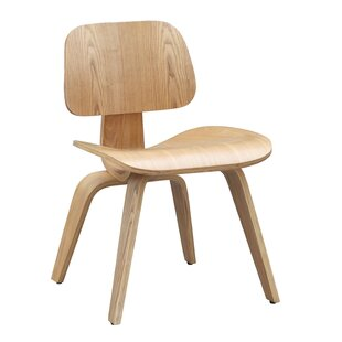 Plywood Side Chair by Fine Mod Imports Modern