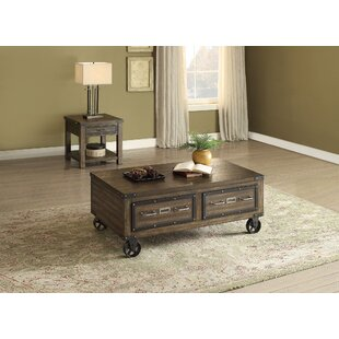 A&J Homes Studio Kailas 2 Piece Coffee Table Set