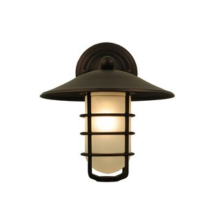 1-Light Outdoor Sconce By Meyda Tiffany Outdoor Lighting