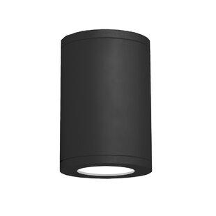 WAC Lighting Tube Architectural 1-Light Flush Mount