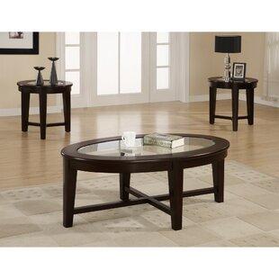 Red Barrel Studio McQuade Lucrative 3 Piece Coffee Table Set
