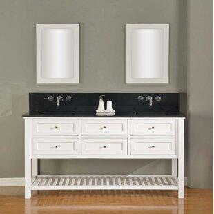 Mission Spa Premium 70 Double Vanity Set By Direct Vanity Sink