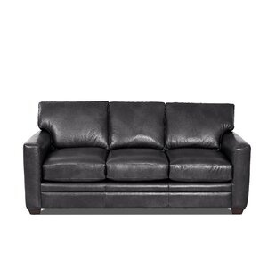 Carleton Leather Sofa Bed By Klaussner Furniture