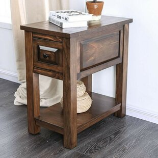Bertha End Table with Stor..