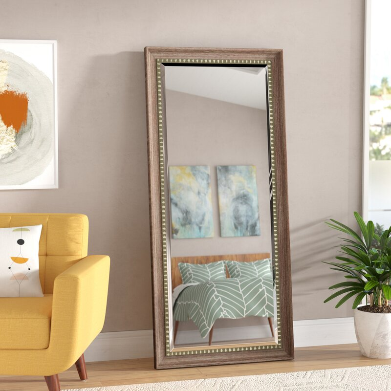 Foundry Select Brunswick Floor Leaner Full Length Mirror & Reviews ...