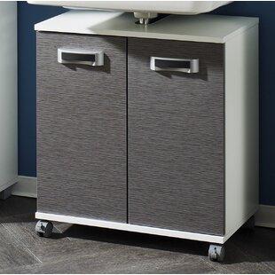 Hayley 60cm Free Standing Under Sink Storage Unit By Mercury Row