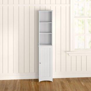 34.5 X 165cm Free Standing Tall Bathroom Cabinet By Belfry Bathroom