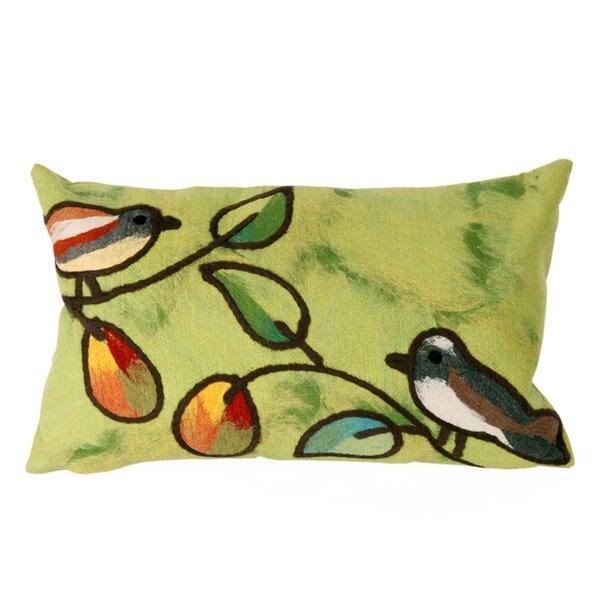 Bird Song Wool Lumbar Pillow Wayfair