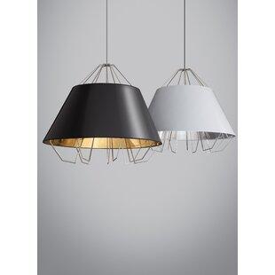 Orren Ellis Davila 3-Light Inverted Pendant