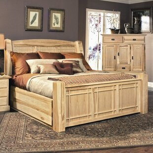 Bargain Arvilla Panel Bed by Loon Peak Reviews (2019) & Buyer's Guide