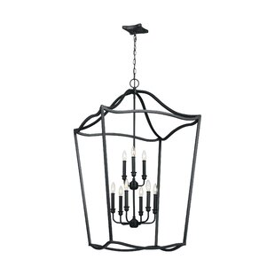 Nicoll 9-Light Lantern Chandelier by Darb..