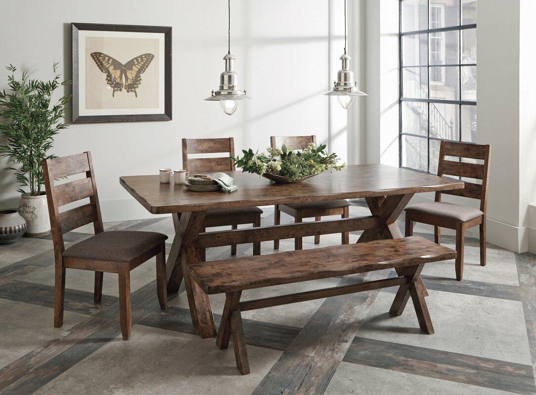 Loon Peak Ventura 6 Piece Dining Set & Reviews | Wayfair