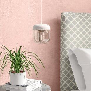Acorn 1-Light Bulb Pendant by Umage