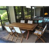 Chumley Solid Wood Dining Table