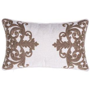 Versailles Crewel Stitch Lumbar Pillow