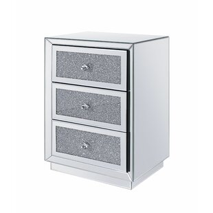 Latona 3 Drawer Nightstand by Rosdorf Park