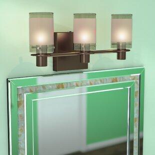 3-Light Vanity Light by George Kovacs by Minka