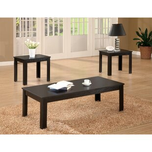 Winston Porter Jenkintown Attractive 3 Piece Coffee Table Set