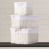 3 Piece Basket Set with Liners by Viv + Rae