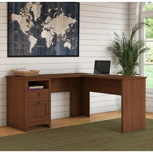 Fralick 2 Piece L-Shaped Desk Office Suite by Darby Home Co