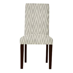 Latitude Run Beachwood Zigzag Parsons Chair (Set of 2)