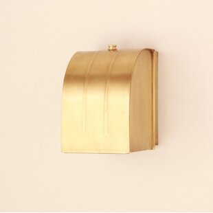 1-Light Flush Mount by Brass Traditions
